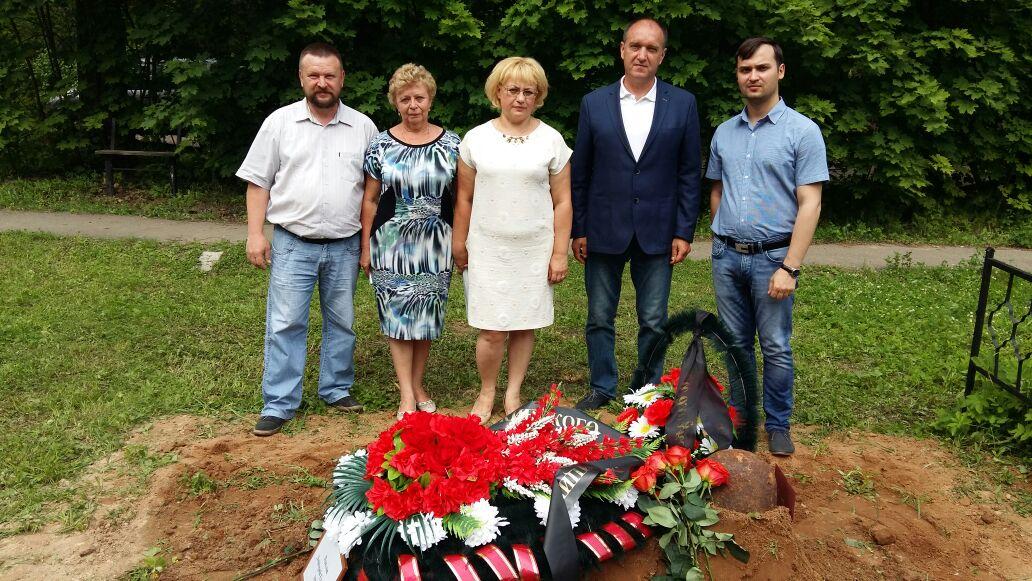 21.06.2016 Захоронение погибшего защитника Отечества в Пушкинском районе