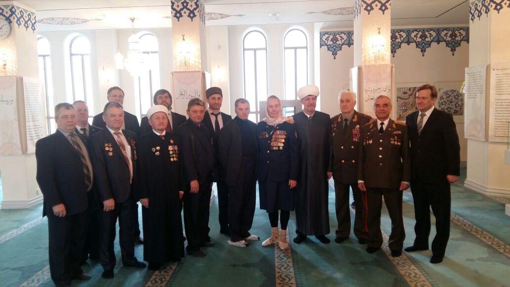 18.04.2017 Торжественная встреча в Московской Соборной мечети