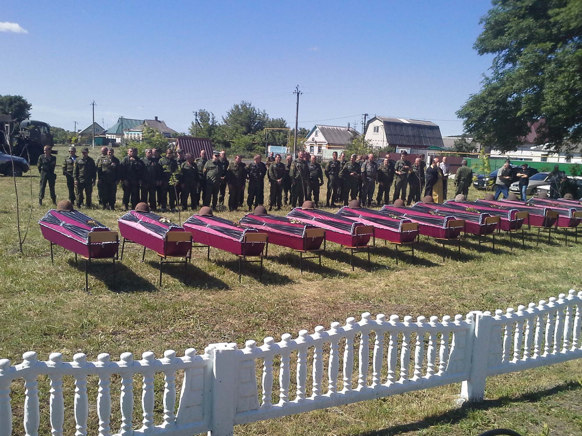 22.06.2017 Захоронение 161 бойца Красной армии
