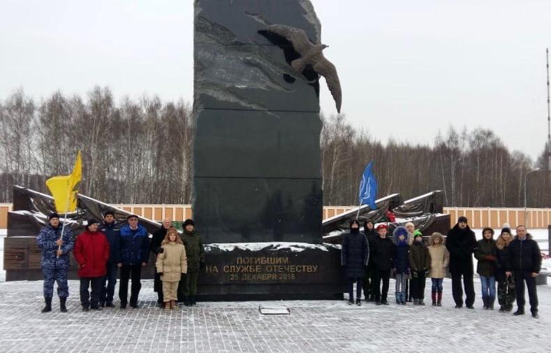 03.12.2018 Московские поисковики почтили память погибших в День неизвестного солдата