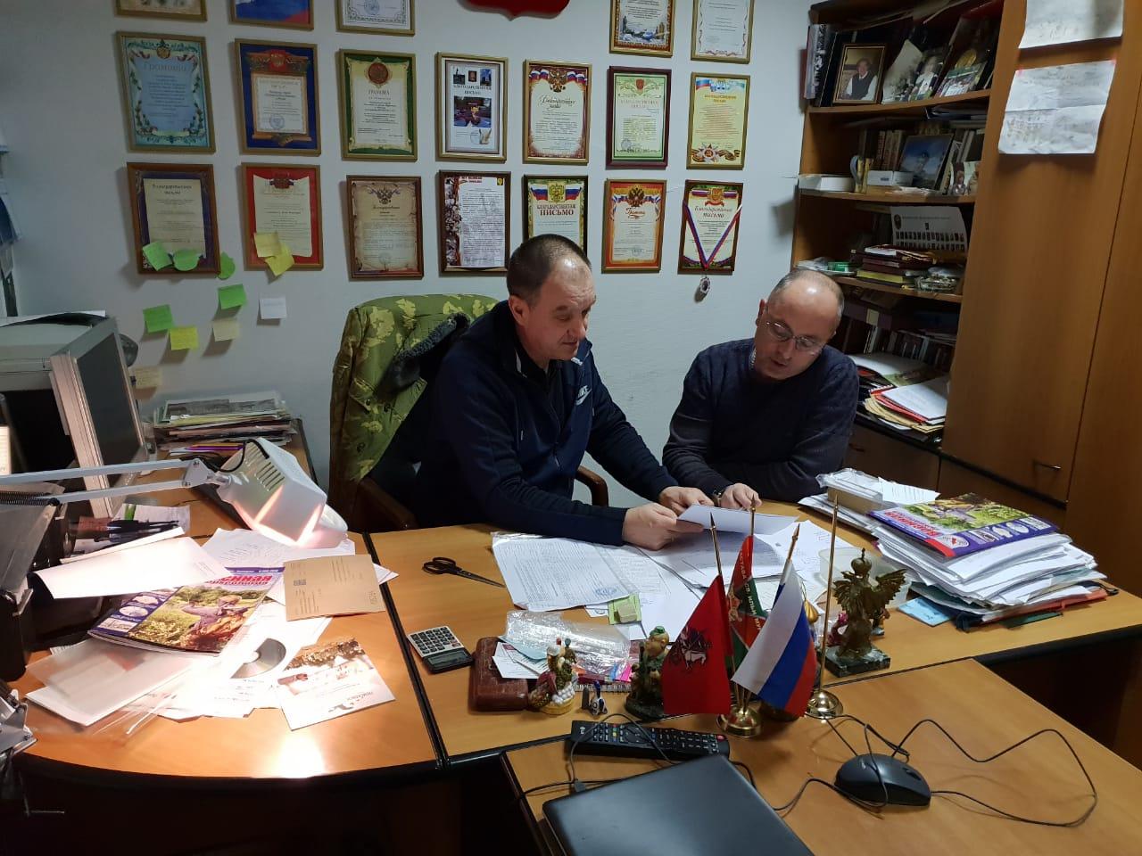 20.01.2019 Встреча с поисковиками Чеченской Республики