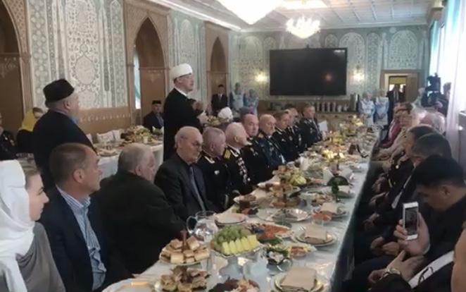 17.04.2019 В Московской Соборной мечети состоялись мероприятия, приуроченные ко Дню Победы