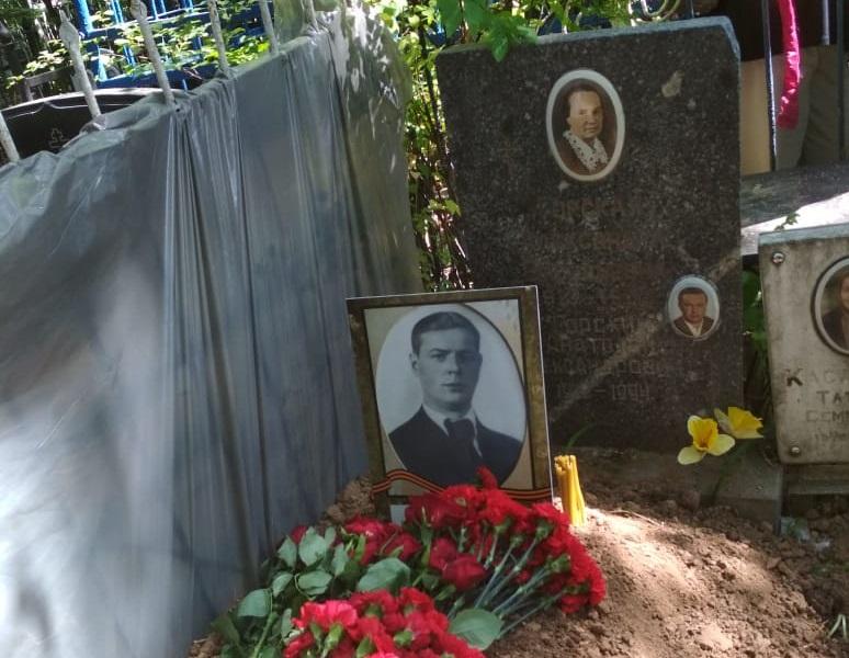 29.07.2019 Захоронение красноармейца А.М. Горского